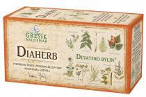 Valdemar Grešík Diaherb čaj n.s. 20x1.5g Devatero bylin