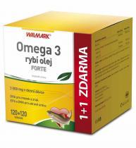 Walmark Omega 3 rybí olej FORTE 120 tob. + 120 tob.