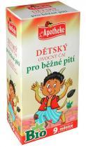 Mediate Apotheke Bio Dětský ovocný čaj pro běžné pití 20x2g