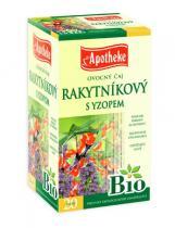 Mediate Apotheke Bio Rakytníkový čaj s yzopem 20x2,5g
