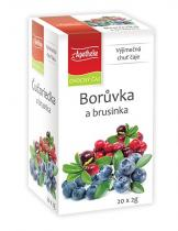 Mediate Apotheke Borůvka a brusinka čaj 20x2g
