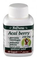 Medpharma Acai berry + garcinia spalovač tuků 67 kapslí