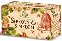 Valdemar Grešík Šípkový čaj s medem ovocný čaj n.s. 20x3g