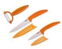 BANQUET GOURMET CERAMIA ARANCIA 3dílná sada nožů