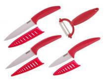 BANQUET GOURMET CERAMIA ROSSA 4dílná sada nožů