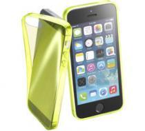 Cellularline Fluo pro Apple iPhone 5 / 5S / SE žlutá (FLUOCASEIPH5Y)