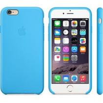 Apple iPhone 6 Silicone Case Blue (MGQJ2ZM/A)
