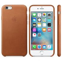 Apple iPhone 6s Leather Case Saddle Brown (MKXT2ZM/A)