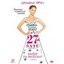 27 šatů DVD (27 Dresses)