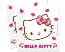 BANQUET Ubrousky 2-vrstvé 33x33 cm 20 KS Hello Kitty