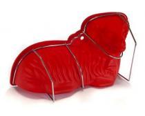 BANQUET silikonový beránek, červený