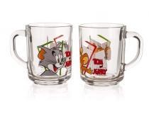 VETRO-PLUS Skleněný hrnek 250 Tom&Jerry A2