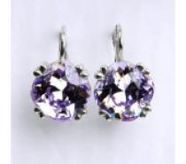 Čistín, violet s krystaly, NK 1225