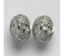 Čistín stříbrné náušnice se zirkony,9,92 g
