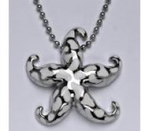 Čistín stříbrný náhrdelník hvězdice,19,65 g