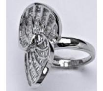 Čistín stříbrný prsten, syntetický čirý zirkon, 8,5 g