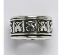 Čistín stříbrný prsten s patinou, 11,86 g