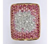 Čistín stříbrný prsten se zirkony, 10,67 g