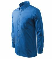 ADLER Shirt - azurově modrá
