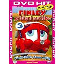 Finley požární autíčko 3 (Pošetka DVD Hit)  (Finley the Fire Engine)