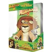 Madagaskar 2: Útěk do Afriky (Speciální vydání s plyšákem lva Alexe) DVD (Madagascar: Escape 2 Africa)