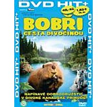 Bobři - Cesta divočinou (Pošetka) DVD (White Tuft, the Little Beaver)