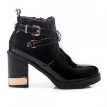 Fashion Boty R135B - černá