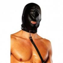 Lux Fetish Gimp Mask with Leash