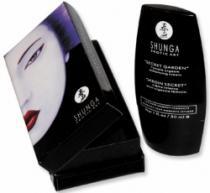 Shunga Secret garden cream krém na vnější mokrý orgasmus