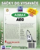 Sáčky do vysavače AEG E 2000Turbo textilní 4ks