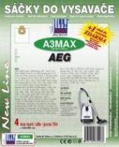 Sáčky do vysavače AEG Vampyr Exquisit 1400EL textilní 4ks