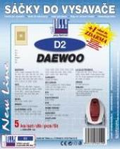 Sáčky do vysavače Daewoo BSS 1401e 5ks