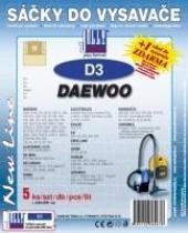 Sáčky do vysavače Daewoo Org. Gr. SB 70, 80, 200 5ks