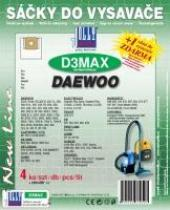 Sáčky do vysavače Daewoo RC 4006 textilní 4ks