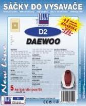 Sáčky do vysavače Daewoo RC 609, RC 605 - 608 5ks