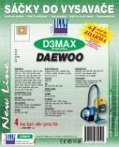 Sáčky do vysavače De Longhi XTD 3095E textilní 4ks