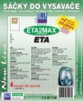 Sáčky do vysavače ECG VP 845 textilní 4ks