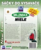 Sáčky do vysavače Miele Allervac Sensor 2000, textilní 4ks
