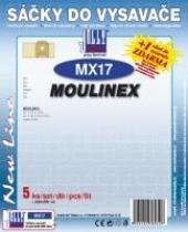 Sáčky do vysavače Moulinex DJ 1, DJ 3, DJ 4, DJ 5 5ks