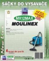 Sáčky do vysavače Moulinex Power Jet textilní 4ks