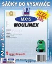 Sáčky do vysavače Moulinex Powerclean 5ks