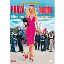 Pravá blondýnka (CZ dabing) DVD (Legally Blonde)