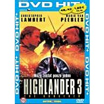 Highlander 3 (Pošetka) DVD (Highlander 3 The Sorcerer)