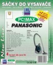 Sáčky do vysavače Panasonic MC E 850 - 859 textilní 4ks