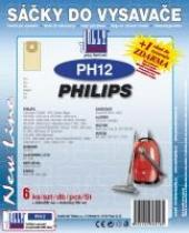 Sáčky do vysavače Philips HR 6300 - 6320 Serie 6ks