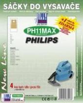 Sáčky do vysavače PHILIPS Triathlon 1300 textilní, 4ks