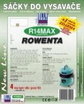 Sáčky do vysavače ROWENTA - RU 600...RU 669 textilní 4ks