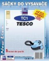 Sáčky do vysavače Tesco VC 207 5ks