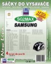 Sáčky do vysavače Samsung VC/RC/FC 5000...5399 textilní 4ks