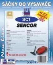 Sáčky do vysavače Solac Electronic 1500 5ks